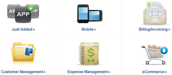 mobile apps  Intuit QuickBooks